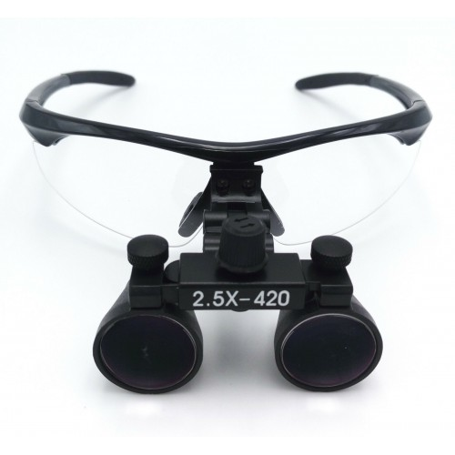 Dental Surgical Medical Binocular Loupes 2.5X420mm Optical Glass DY-101