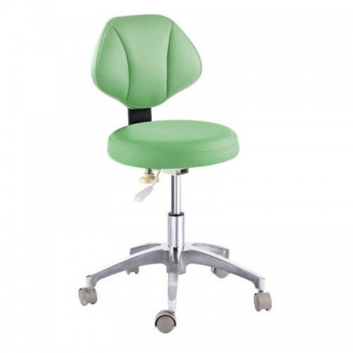 Microfiber Leather Medical Dental Doctor's Chair Stool Adjustable Mobile Chair