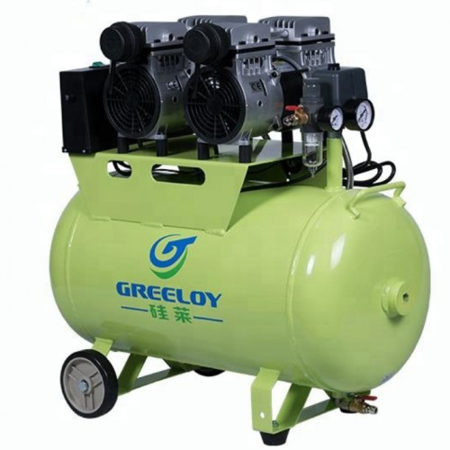 Greeloy® GA-82 Dental Oilless Air Compressor Double Motor