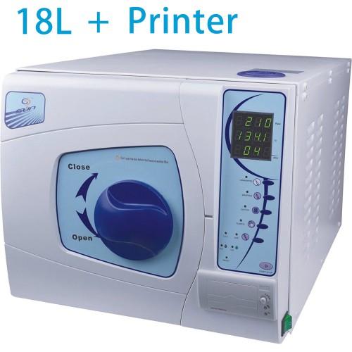 Sun® SUN-II-D 18L Dental Medical Autoclave Sterilizer Vacuum Steam with Printer