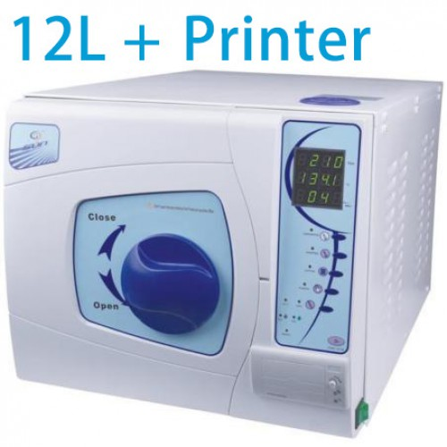 Sun® SUN-II-D 12L Dental Autoclave Sterilizer Vacuum Steam with Printer