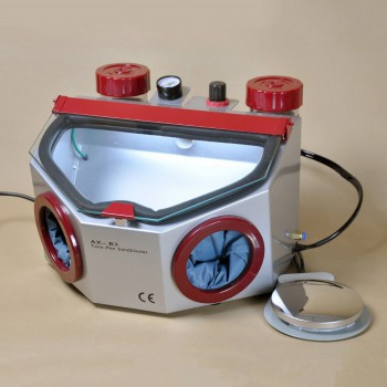 Aixin AX-B3 Dental Lab Fine Blasting Unit for Polishing Porcelain Crowns