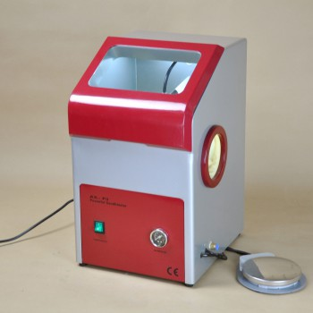 Dental Lab Recyclable Sandblaster Machine Lab Equipment Dust Free AX-P3