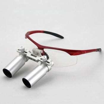 6.0X 420mm Medical Loupes Binocular Dentist Magnifier Dental Loupes Eyeglasses