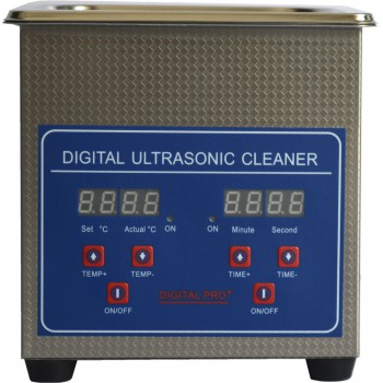 1.3L Digital Control LCD Stainless Steel Ultrasonic Cleaning Machine JPS-08A