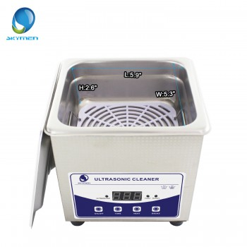 1.3L Industry Ultrasonic Cleaner Machine Heater Stainless Steel w/ Timer Jewelry Glasses