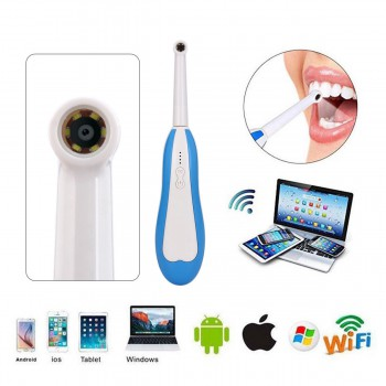 Dental HD Mini WiFi Wireless Intraoral Oral Camera for iPhone Android Windows