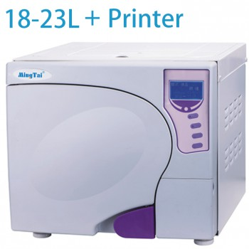 Sun® SUN-III 16-23L Dental Autoclave Sterilizer Vacuum Steam with Printer