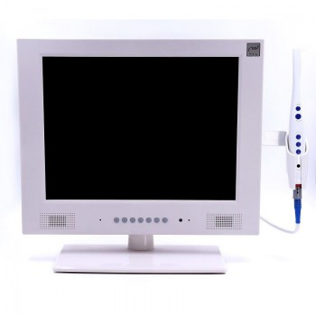 Dental WI-FI CCD Intraoral Cameral Detector M-958A with 15 inch LCD Monitor