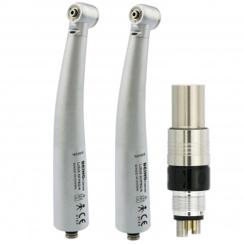 BEING Lotus 302/303PBQ Fiber Optic Turbine Handpiece with NSK Phatelus Coupler