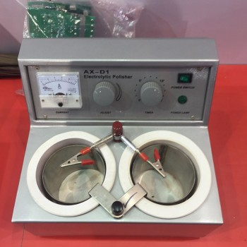 Aixin AX-D1 Dental Lab Electrolytic Polisher With Two Water Bath Equipment