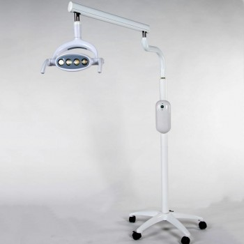 Saab P102A Dental 15W Shadowless Oral Light Lamp Floor Standing Type