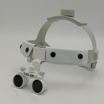 2.5X420mm Dental Surgical Medical Binocular Headband Loupes DY-107