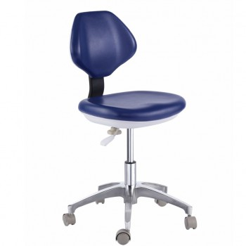 PU Leather Medical Dental Dentist's Chair Doctor's Stool Mobile Chair QY90G