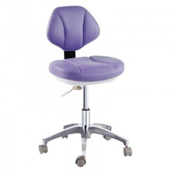 Microfiber Leather Medical Dental Dentist's Chair Doctor's Stool Mobile Chair CE