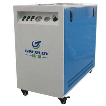 Greeloy GA-63XY 90L Dental Air Compressor Ultra Quiet with Drier and Silent Cabinet