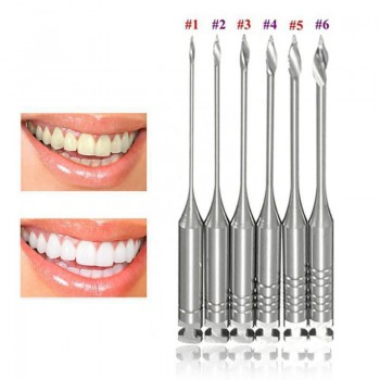 5 Boxes Dental Endo GATES Glidden Drill 32mm 1-6# Endodontic Root Canal Tools