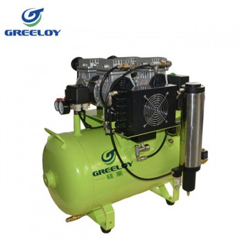Greeloy® GA-82Y Dental Oilless Air Compressor Oil Free With Drier