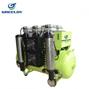 Greeloy® GA-83Y Dental Oilless Air Compressor Oil Free with Drier