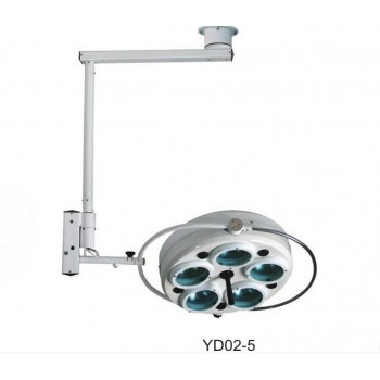 Ceiling-mounted Dental Cold Light Operating Lamp Medical Surgical Light YD02-5
