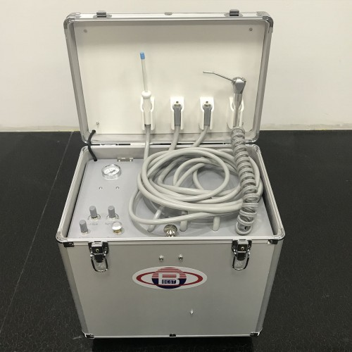 BD402A Portable Dental Turbine Unit(Air Compressor + Suction + Triplex Syringe)