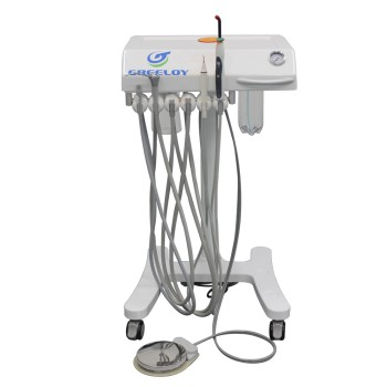 Greeloy® GU-P302 Mobile Dental Delivery Cart Units Self-contained Built-in LED C...