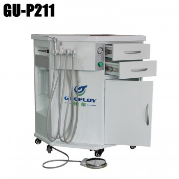 Greeloy® GU-P211 Self-contained Dental All in One Mobile Dental Delivery Cart Unit System
