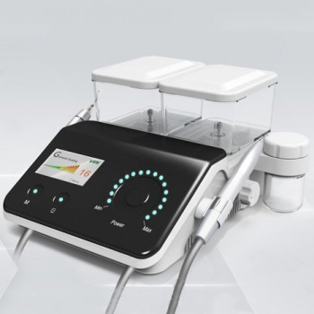 Vrn Q6 Dental Ultrasonic Scaler + Air Polisher No-Pain Ultrasonic Periodontal Treatment