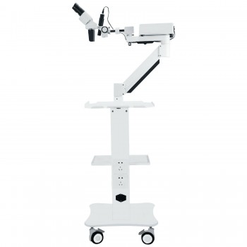 Dental Surgical Microscope Operating Loupe with 5W LED Light&Trolley Cart Unit f...