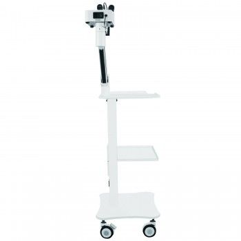 Dental Surgical Microscope Operating Loupe with 5W LED Light&Trolley Cart Unit for ENT