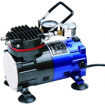 Greeloy GZ602 Mini Portable Inflation Air Compressor & Vacuum Pump without Tank
