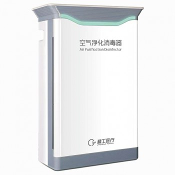 Touch control Small UV sterilizer Filter Air Purifier for Hospital Clinic
