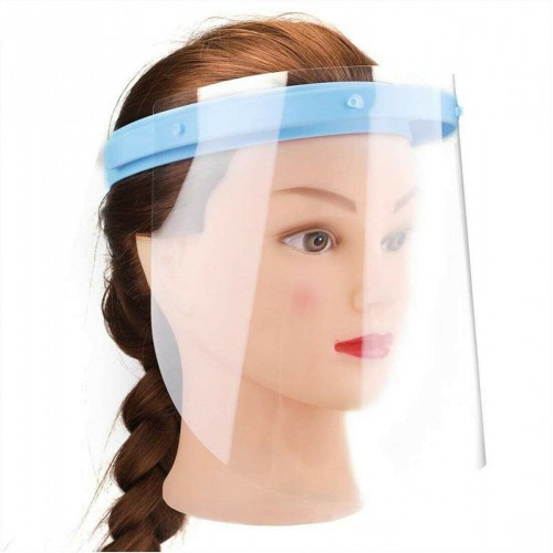 Anti-fog Adjustable Dental Full Face Shield with 10 Replaceable Plastic Film