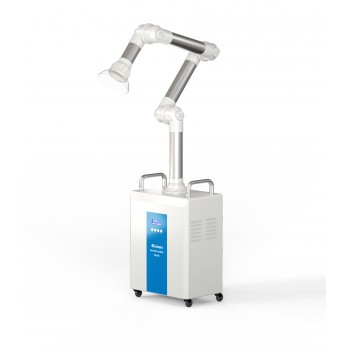 RUIWAN 220W RD80 Dental Chairside Extra-oral Vacuum Aspirator System 4 Filters layer+ 2 UV lamps + Plasma