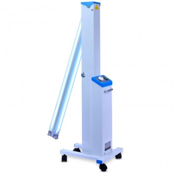FY® 30DC Mobile UV+Ozone Disinfection Car Ultraviolet Lamp Sterilizer Trolley Ca...