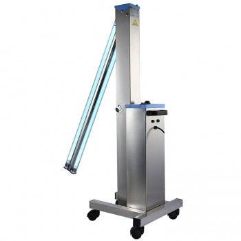FY® 30DS Mobile UV+Ozone Trolley Disinfection Car Ultraviolet Lamp Stainless Steel Medical Hospital