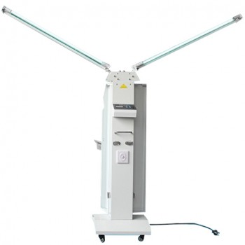 FY® 30FSI Mobile UV+Ozone Disinfection Cart Lamp Ultraviolet Sterilizer Trolley Unit With Infrared Sensor