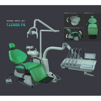 TJ2688F6 Dental Treatment Unit Computer Controlled Integral Dental Chair Unit Sy...