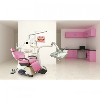 TJ2688F6 Dental Treatment Unit Computer Controlled Integral Dental Chair Unit Synthetic Leather