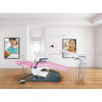 Tuojian TJ2688 B2 Dental Chair Treatment Unit Computer Controlled Integral PU Le...