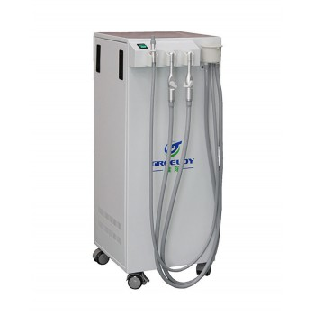 GREELOY GSM-300 Moible Dental Suction Machine Vacuum Pump 350L/min with Strong Suction