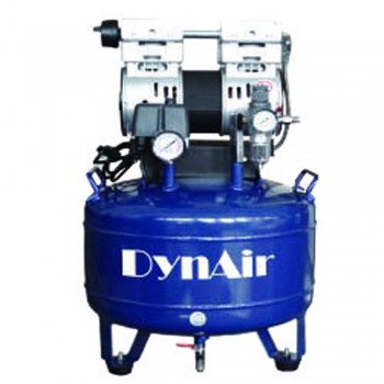DynAir Oil Free Dental Air Compressor Oilless Silent Quiet DA7001