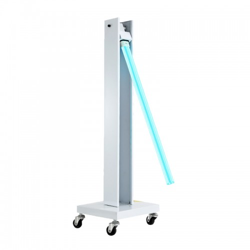Mobile Trolley UV Sterilizer Disinfection Lamp Germicidal UV Sterilizing Light with Wheels