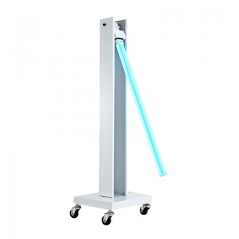 Mobile Trolley UV Sterilizer Disinfection Lamp Germicidal UV Sterilizing Light w...
