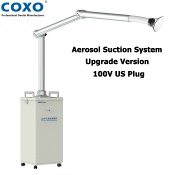 Upgrade COXO Dental Extraoral Aerosol Suction Unit UV Droplets Remover