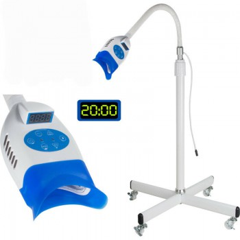 Floor Mobile Dental Teeth Whitening Cold LED Light Lamp 36W Bleaching Machine