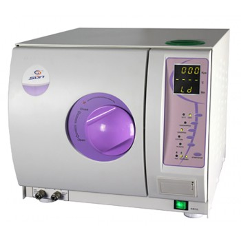 16-23L Sun® SUN-I-D-B Dental Autoclave Sterilizer Vacuum Steam Class B with Printer