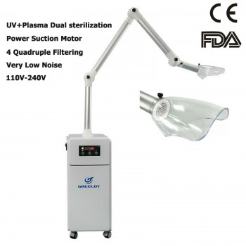 GREELOY External Dental Clinic Oral Aerosol Suction Unit UV-C Irradiation+ Plasm...