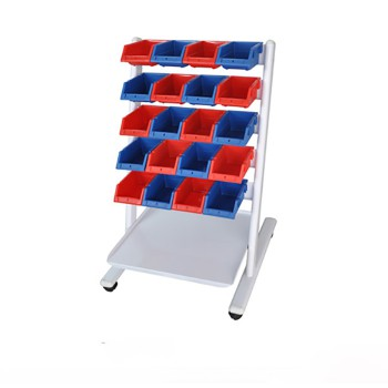 Aixin Dental Cart with Pan for Dental Lab Storage and Moving of Pans