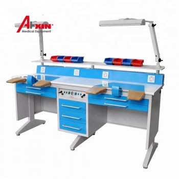 Aixin EM-LT6 Dental Lab Workstation Double Two Persons Dental Lab Bench